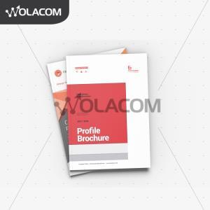 Wolacom, Jasa Design Company Profile Surabaya