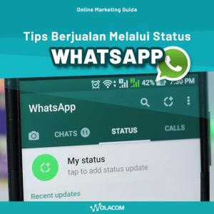 Trik Berjualan melalui Status Whatsapp - Online Marketing Guidance