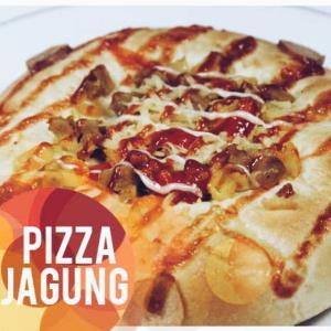 Roti Pizza Jagung Enak