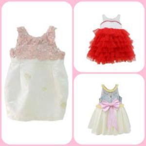 Baju Bayi Perempuan Dengan Desain Khusus