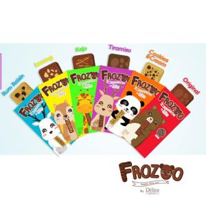 Frozoo Frozen Brownies Surabaya