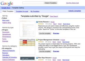 Template Di Google Dokumen